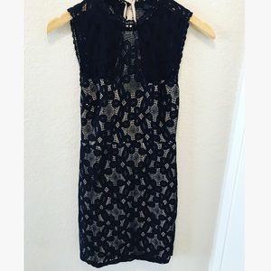 Black Lace Forever 21 Dress